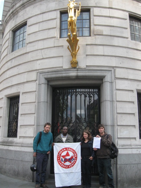 LCAP at the South African UK High Commission in London