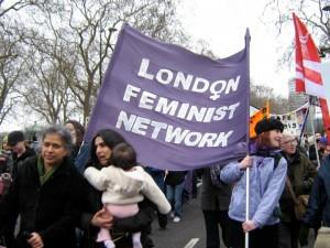 London Feminist Network on the Million Women Rise march 2008
