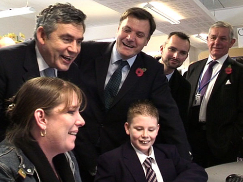 Gordon Brown at the City of London Academy