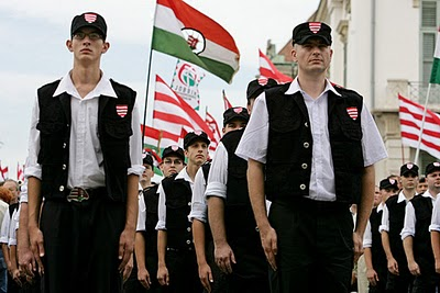 The Hungarian Guard militia