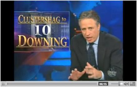 "Jon Stewart covering ""Bigotgate"""