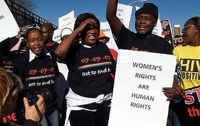 South African Anti-Rape Protestors