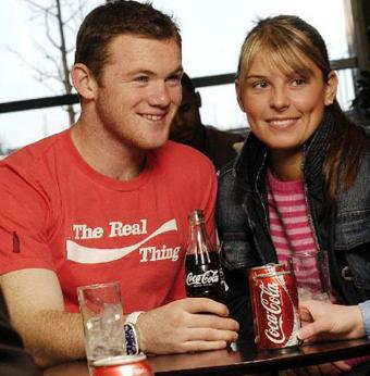 Wayne Rooney Coca Cola advert